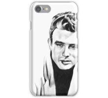 Classic actor Graphite pencil portrait iPhone Case/Skin