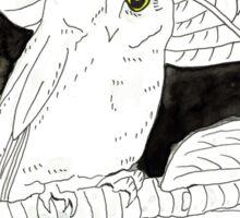 Ryukyu Scops-Owl.  Sticker