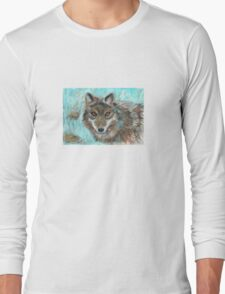Wolf of the night Long Sleeve T-Shirt