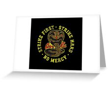 Cobra kai - Distressed Variant 2 Greeting Card