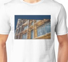 Three Dimensional Optical Illusions - Trompe L'oeil on a Brick Wall Unisex T-Shirt