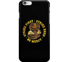 Cobra kai - Distressed Cracked Red Variant iPhone Case/Skin