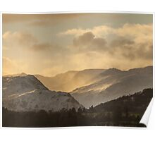 Sunset On The Fells Poster