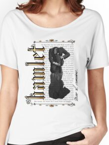 Hamlet Shakespeare David Tennant Soliloquy Must I Remember Women's Relaxed Fit T-Shirt