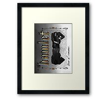 Hamlet Shakespeare David Tennant Soliloquy Must I Remember Framed Print