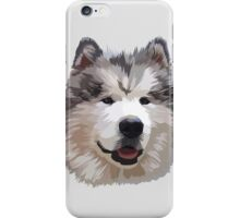 Cute Alaskan Malamute iPhone Case/Skin