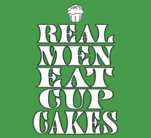 Real Men Eat Cupcakes One Piece - Short Sleeve