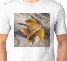 Tulip Tree Leaf - Shadow and Light Unisex T-Shirt
