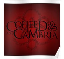COHEED & CAMBRIA RED LOGO BEST Poster