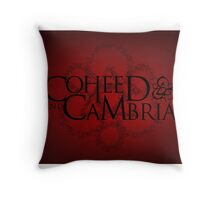 COHEED & CAMBRIA RED LOGO BEST Throw Pillow