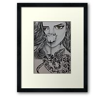 Be Honest to Your Body and Soul. Framed Print
