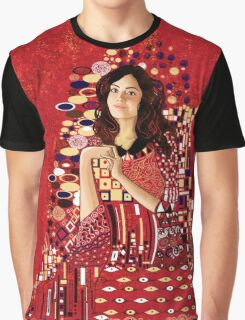Portrait of Clara Oswin-Oswald a la Klimt Graphic T-Shirt