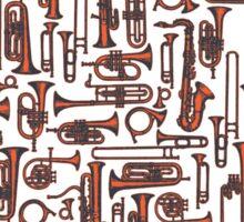 Horns COPPER Sticker