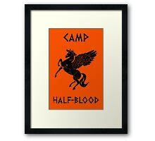 Camp Half-Blood (Distressed) Framed Print