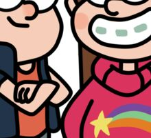 Gravity Falls Mable and Dipper Sticker