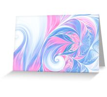 abstract wave psychedelic oil background. Fractal artwork for creative design. Greeting Card