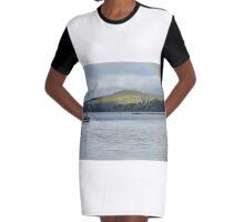 Rainbow on the Huon River Graphic T-Shirt Dress