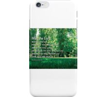 May the Lord  bless you. iPhone Case/Skin