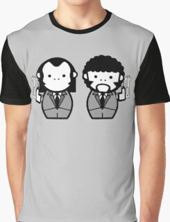 Vincent Vega and Jules Winnfield Graphic T-Shirt