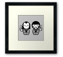 Vincent Vega and Jules Winnfield Framed Print