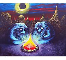 Two Trolls Photographic Print