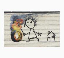 Banksy Bristol School - Wide One Piece - Short Sleeve