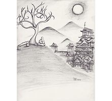 Zen Hill Photographic Print