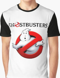 GHOSTBUSTERS logo Graphic T-Shirt