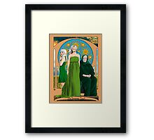 The Summer Court of the Sidhe Framed Print