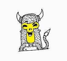 Urban monkey in viking helmet Unisex T-Shirt