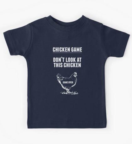 Chicken Game T-Shirt   Funny Chicken Joke Kids Tee