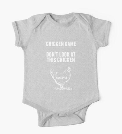 Chicken Game T-Shirt | Funny Chicken Joke One Piece - Short Sleeve