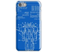 Transformers Patent - Blueprint iPhone Case/Skin