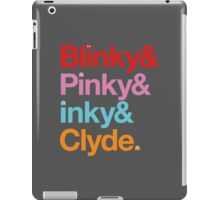 Blinky & Pinky & Inky & Clyde. iPad Case/Skin