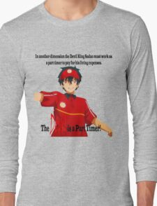 The Devil is a Part Timer! Sadao Maou Long Sleeve T-Shirt