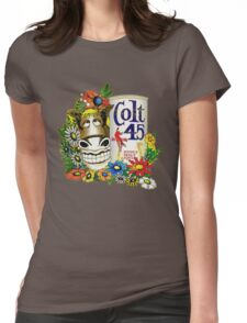 Jeff Spicoli Colt 45 Womens Fitted T-Shirt