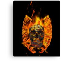 Coined - Skull collection Canvas Print
