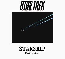 Starship Enterprise Minimalist Star Trek Mens V-Neck T-Shirt