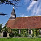 St Peter's Church, Selsey, East Sussex by lezvee