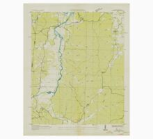 USGS TOPO Map Alabama AL Bishop 303256 1936 24000 Kids Tee