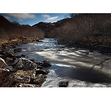 river kirkaig Photographic Print