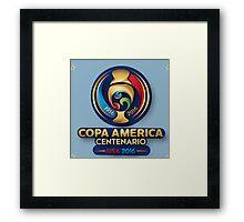 Copa America 2016 Framed Print