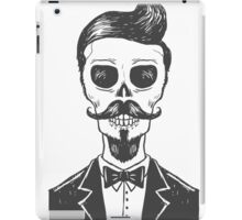 Vintage Skeleton iPad Case/Skin