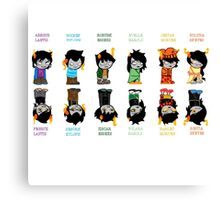 Homestuck Trolls Canvas Print