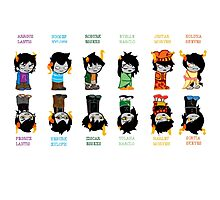 Homestuck Trolls Photographic Print