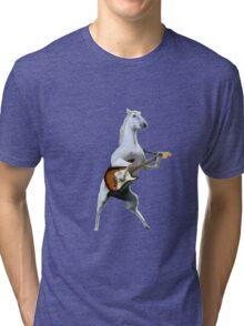 Guitar Horse Tri-blend T-Shirt