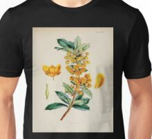 The botany of the Antarctic voyage of H M  discovery ships Erebus and Terror in the Years 1839 1843 Joseph Dalton Hooker V1 073 Unisex T-Shirt