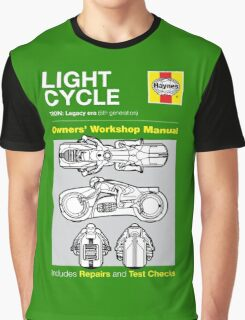 Haynes Manual - Tron Lightcycle - T-shirt Graphic T-Shirt