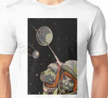 Space Dog SputniK Unisex T-Shirt