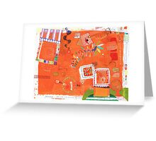 a diary page Greeting Card